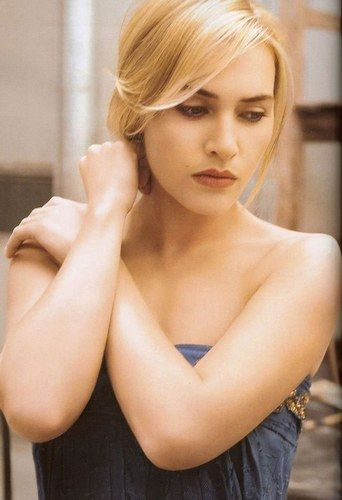 Kate Winslet. One of my favorite things about her is her ability to shape shift. She can look like a different person from one photo to the next.