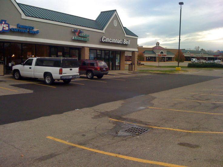 Commercial Asphalt Patching - Asphalt Parking Lot Repairs - Klekamp Paving