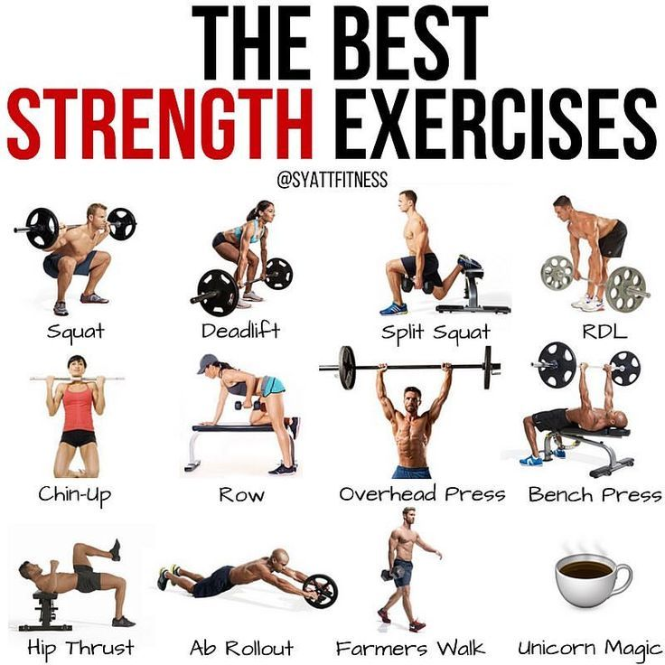 ad5d21d495f The best strength exercises for a full body workout.  exercise  unicorns