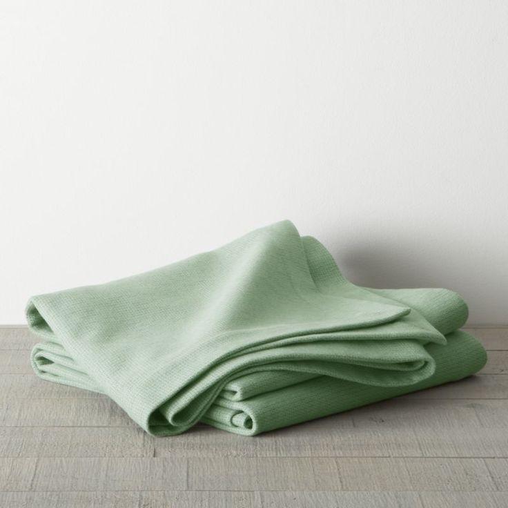 geneva green blanket crate and barrel