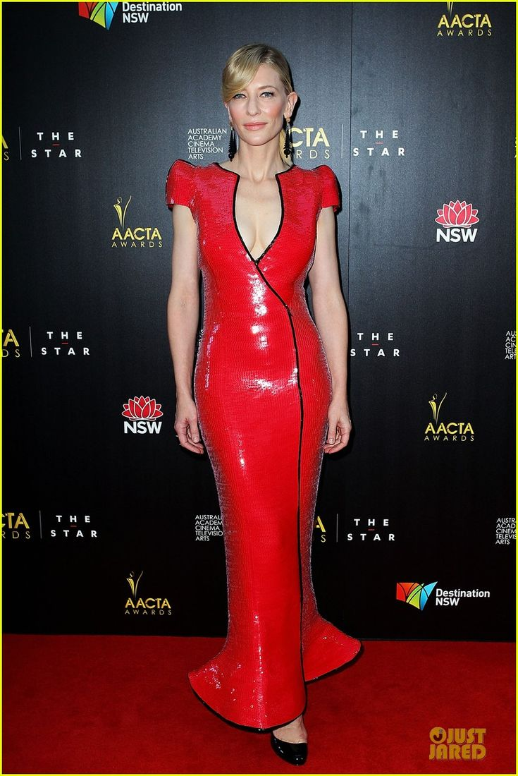 """Cate Blanchett.    AACTA Awards.    """"Armani Prive and vintage jewelry."""""""