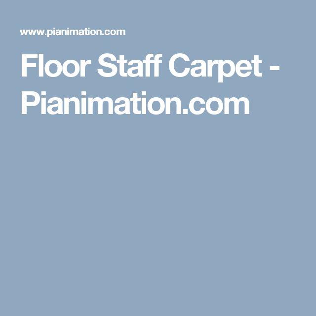 Floor Staff Carpet - Pianimation.com