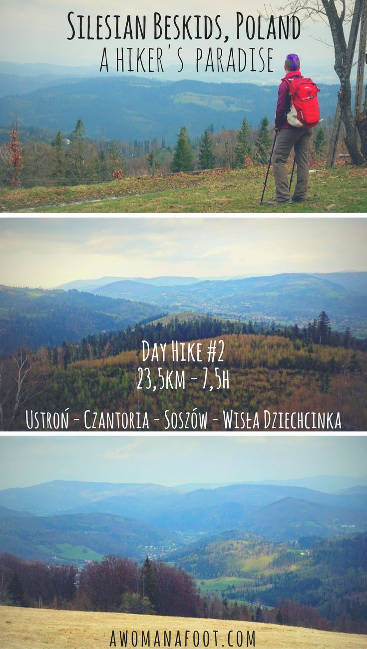 Check out one of the best day hikes Silesian Beskids have to offer - great views, challenging trails and cheap accommodation - don't miss it! Hiking in Poland | Carpathians | Eastern Europe Travel | Hiking Trails in Europe