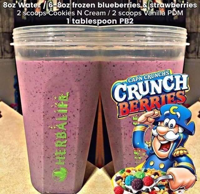 Captain Crunch shake