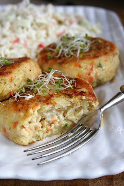 Kotlety warzywne z serem pleśniowym   sio-smutki! Monika od kuchni