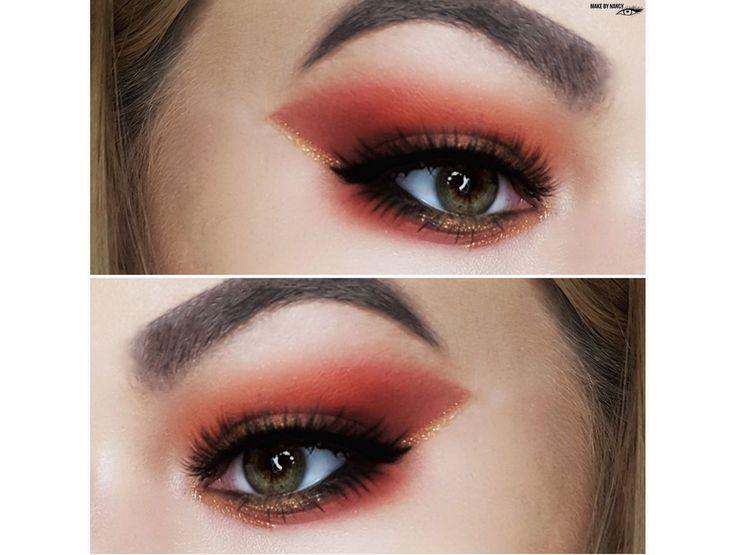 Autumn mood #makeup #mua #makeupartist #makebynancy #autumnlook #autumnmakeup #juviasplace #autumnmood #art #fashiom #eyesmakeup #eyemakeup