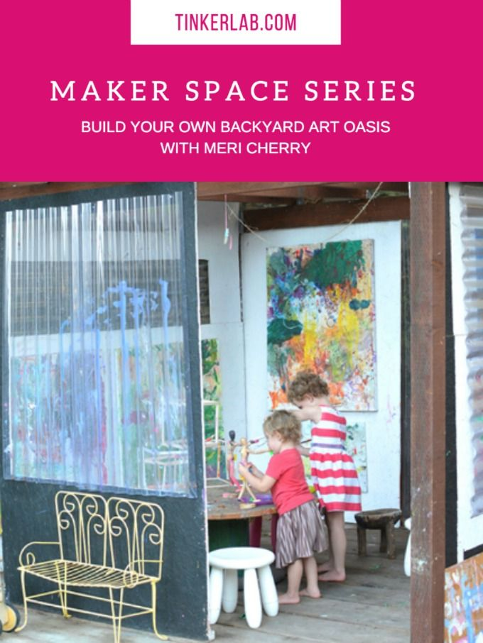 Today I'm joined by Meri Cherry (yes, that's her real name!). Meri is a mom of two little artists in sunny Los Angeles. She's also an atelierista at Kol Tikvah Early Childhood Education Center, and you may remember that Meri recently paid TinkerLab a visit when she shared a peek into her school's Tinkering Space. …