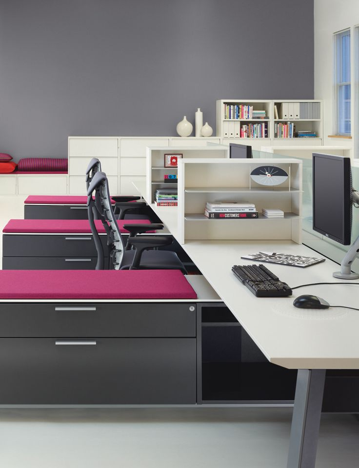 Herman Miller You have to love a little color in the office.