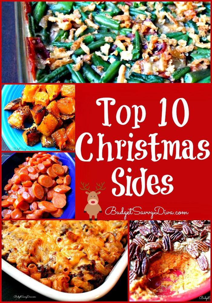 174 best christmas party and dinner ideas and recipes images on top 10 christmas sides recipes forumfinder Choice Image