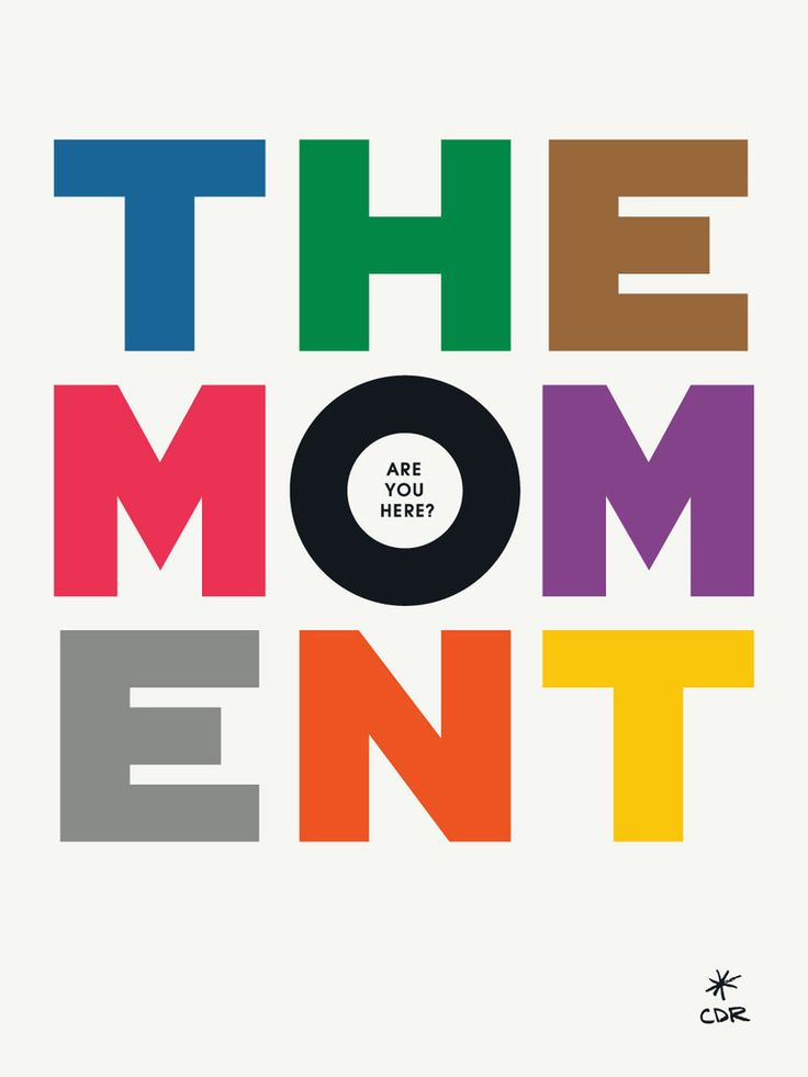 The Moment Print