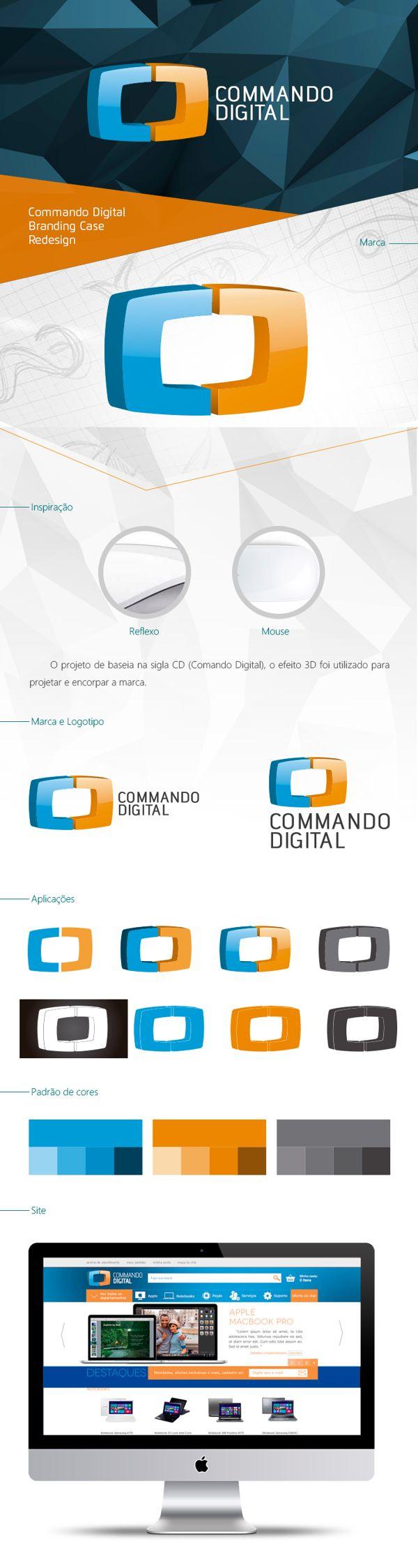 Branding - Commando Digital on Behance