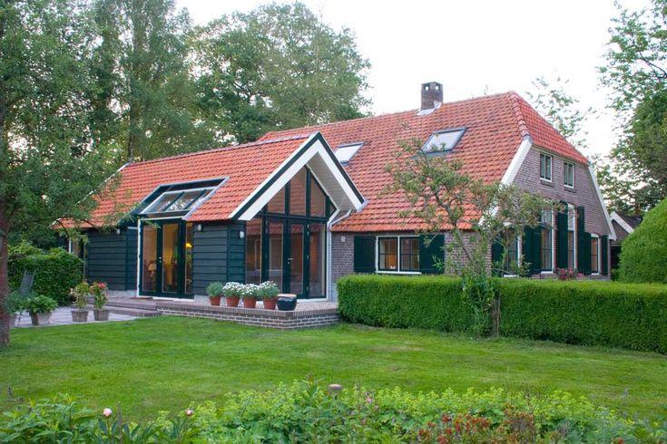 Peter van Woerden, architect - Deventer - Uitbreiding woonboerderij