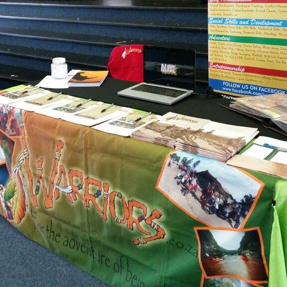 Career expo at HeronBridge College #gapyear