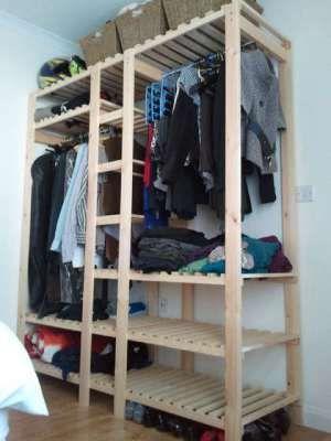 Wooden-Wardrobe