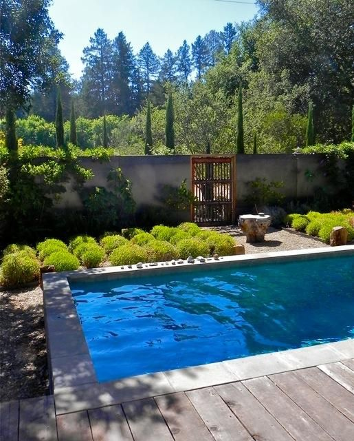 Daniel Hale swimming pool Saint Helena, Remodelista