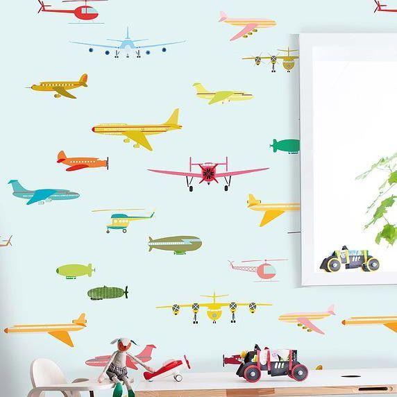 Onszelf Kids Wallpaper Panels | OZ3160 Aeroplanes