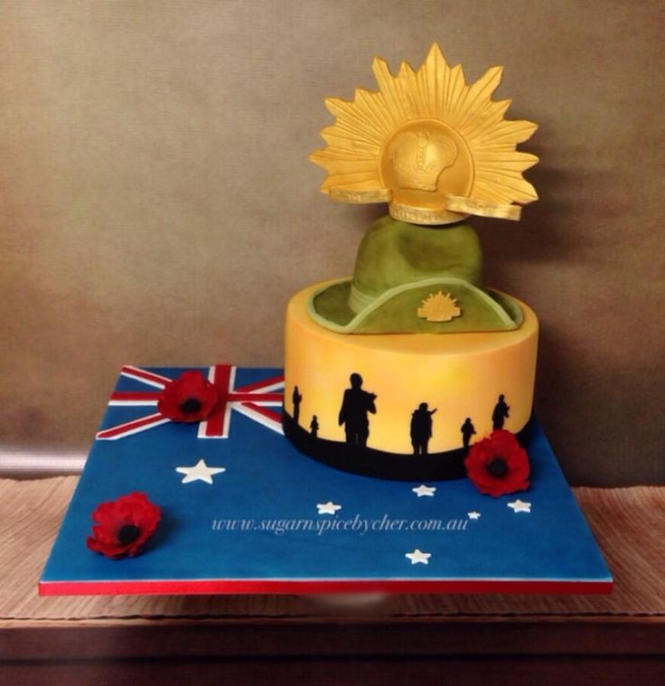 Remembering our Anzacs (2015) - Cake by Sugar n Spice by Cher