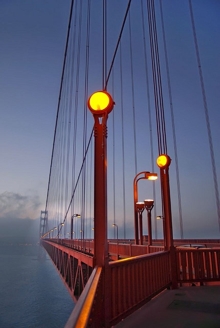 the north tower of the golden gate bridge - marin county, california