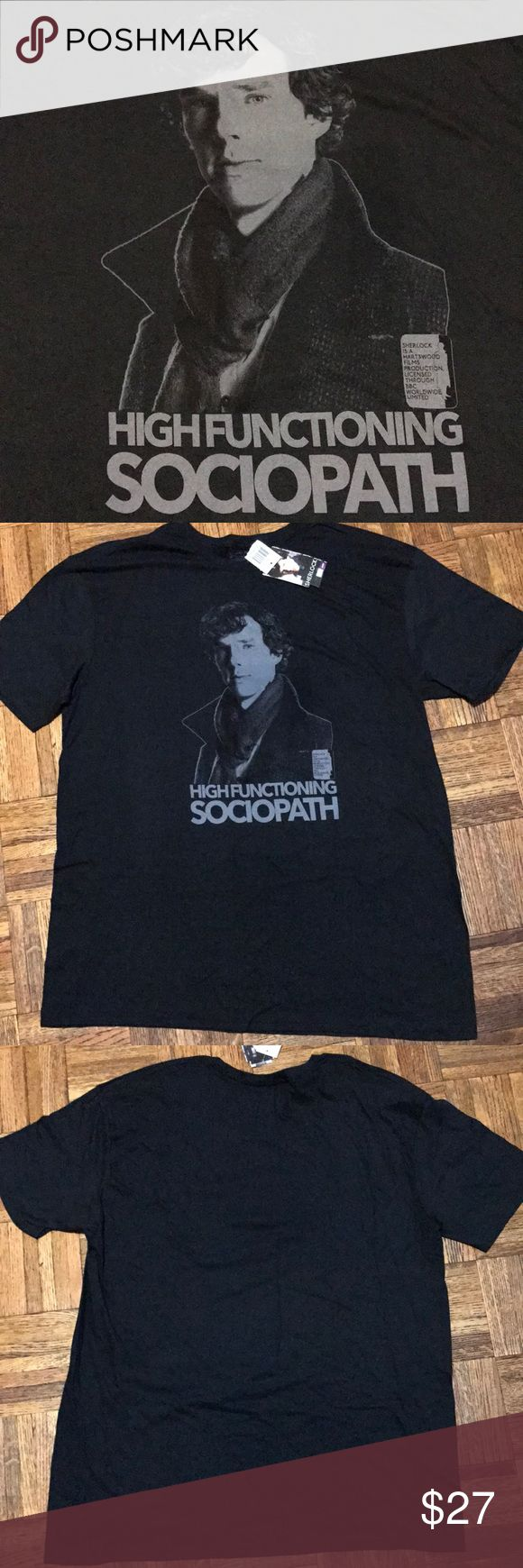 Sherlock Men's Tee Size XL This is a Sherlock tee. Please see pictures for details. Size XL Sherlock Shirts Tees - Short Sleeve