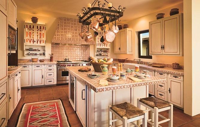Hacienda style kitchen design pinterest for Ranch house kitchen designs