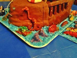 torta pesci