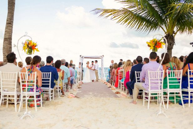 Mexico destination wedding locations   Cancun beach wedding venue   Excellence Playa Mujeres (FineArt Studio Photography)