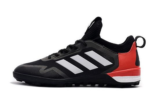 791d58c9bfd7 Adidas Ace Tango 17+ Purecontrol Tf Black Red White 2018 Authentic Shoe