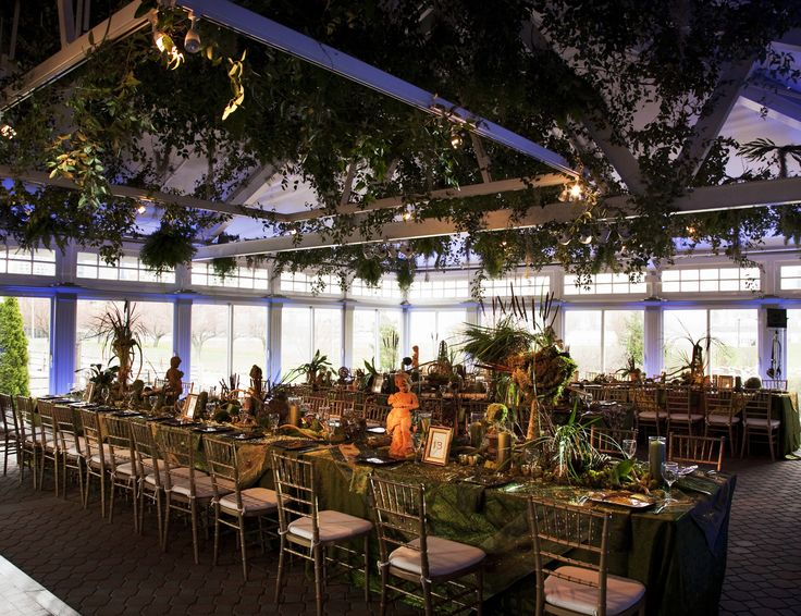 STUNNING setup by wedding planner David Tutera at Liberty House!
