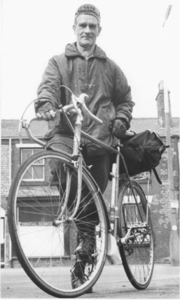 Radcliffe, Cycling Harry Hill Olympic bronze medal winner 1936 May 1976  My husband Glyn went running with Ron when he was in Cyprus a few years ago it was a three day event really nice man.