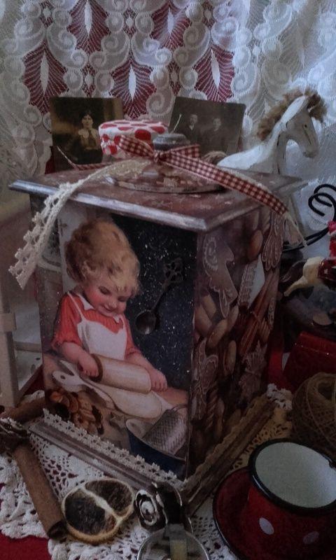 Karácsonyi mézi sütés - nosztalgia doboz (pozsgigi) - Meska.hu