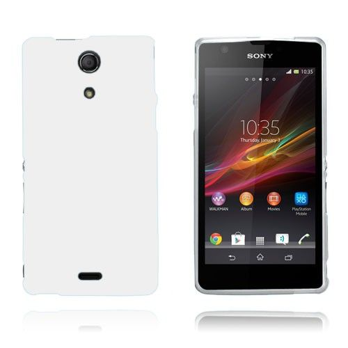 GelCase (Hvit) Sony Xperia ZR Deksel