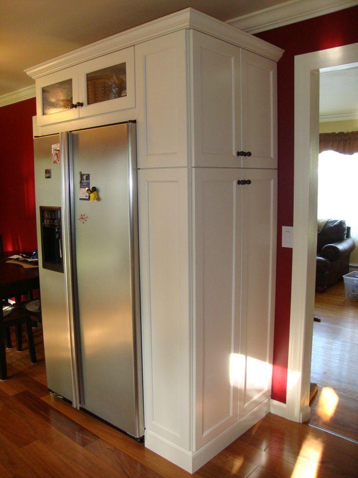 Broom Closet Next To Fridge Bing Pantry Cabinet Free Standing Free Standing Kitchen Pantry Kitchen Cabinet Storage