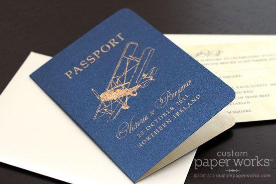 Airplane Wedding Invitations - http://exweddinginvites.info/airplane-wedding-invitations/
