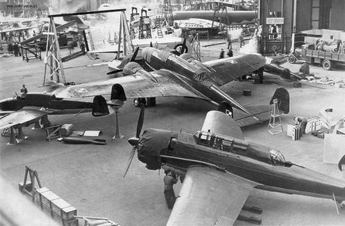 Polish aircrafts (II World War period): Middleground, left: fighter - PZL.38 Wilk - Wolf Middleground, center: bomber - PZL.37 Łoś - Moose Foreground: light bomber-reconnaissance - PZL.46 Sum - Catfish