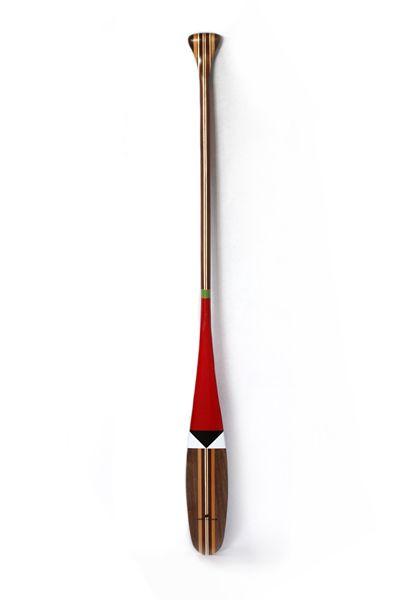 Hivernant Painted Canoe Paddle