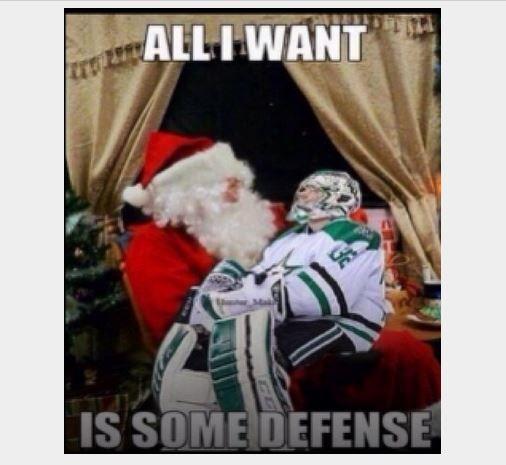 Hockey Goalie Christmas