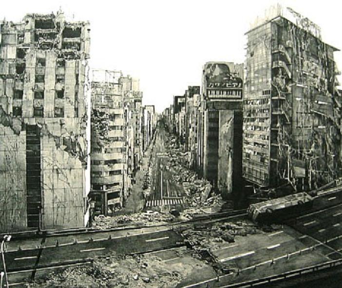 Abandoned, Crumbling City.