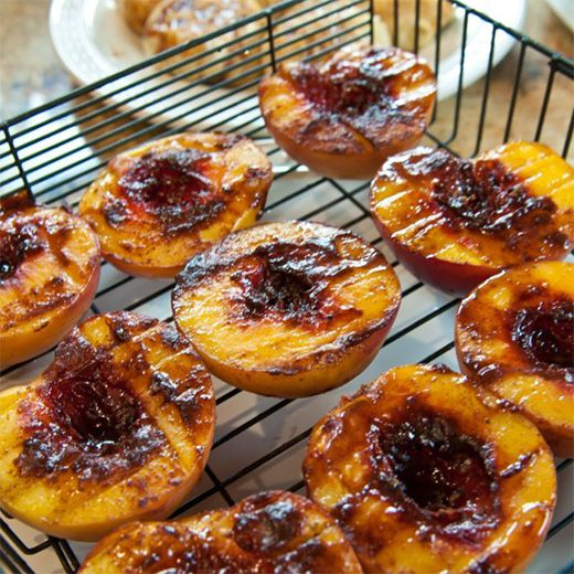 Grilled Peaches - Ronco Rotisserie Oven Recipes - Ronco.com