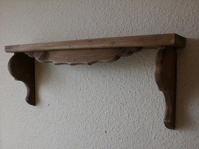 Repisas de madera para decorar
