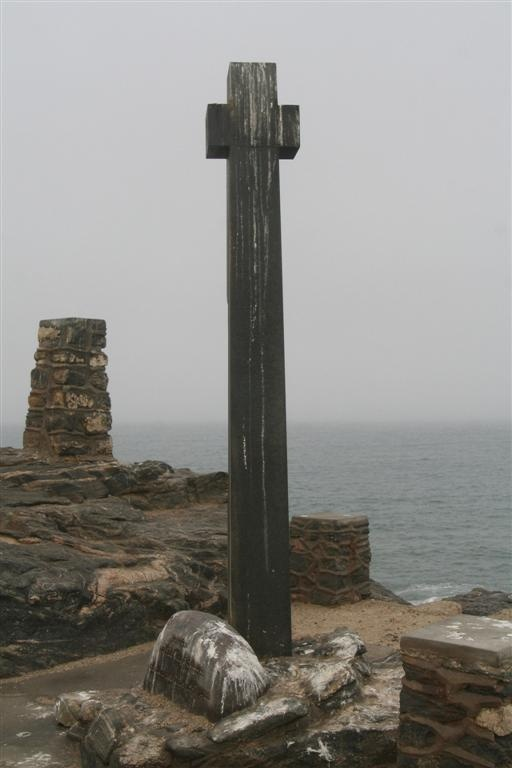 Monument for Diaz, Luderitz, Namibia. Just to the left used to be the best crayfish spot ever!