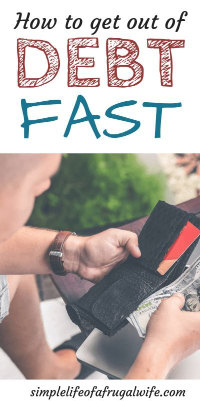 How to get out of debt Fast – Simple Life of a Frugal Wife