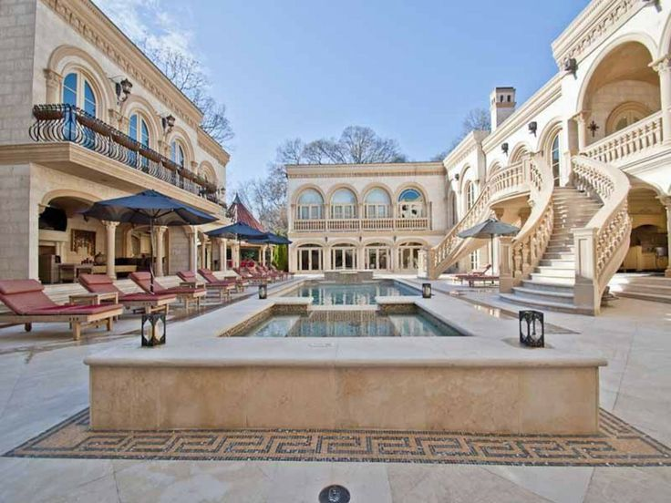 490 w paces ferry rd nw atlanta ga 30305 staircases patios and luxury - Biggest House In The World Inside