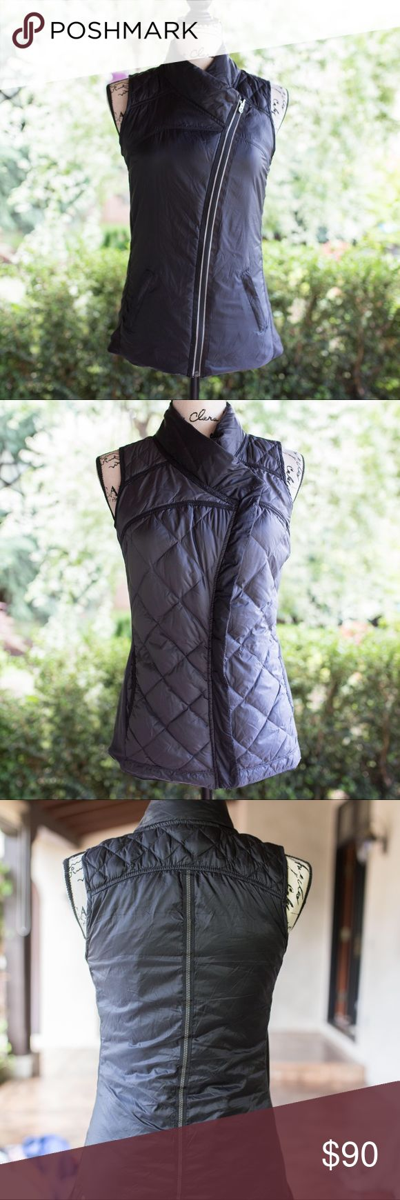 Reversible Lululemon Vest Practically new. Only been worn a few times. Super flattering on. In excellent condition. It's reversible! lululemon athletica Jackets & Coats Vests