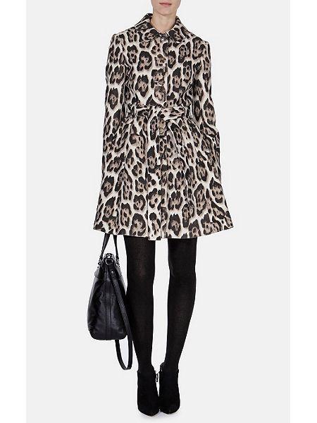 Cute 60s leopard coat