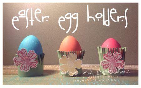 eggs in grass holder