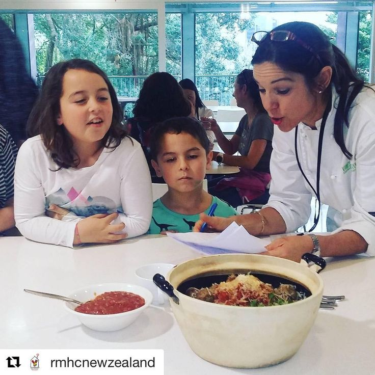 Great to have some of our children helping @vanessabaxternz decide which team of the #soltiusnz group has cooked the nicest dish