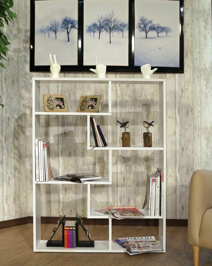 Kitap ve dekoratif objelerinizi sergileyebileceğiniz Kenyap Eko-line Dekoratif Kitaplık kargo bedava fırsatı ile 69.90 TL! #DekorazonCom >> http://www.dekorazon.com/kitaplik-kategorisi-315?utm_source=Pinterest&utm_medium=post&utm_campaign=Kenyap-Raf#3&t=k