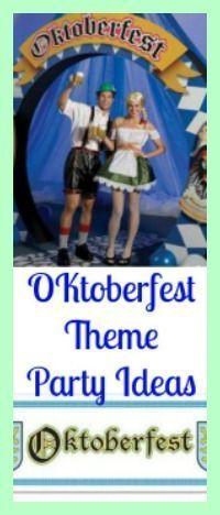 Oktoberfest-Party-Ideen – Planen Sie eine Oktoberfest-Party! – Oktoberfest – # …. – Oktoberfest Fotos und Pins