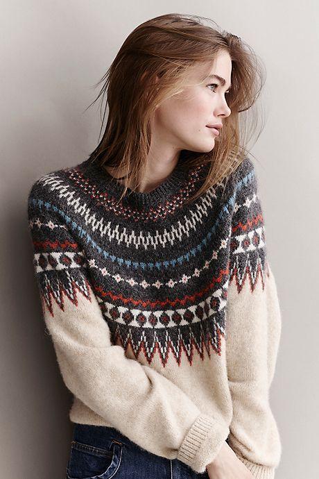 Norwegen bekommt Konkurrenz. Schau dir diesen Pullover an. Closed Fashion im Gränicher Luzern