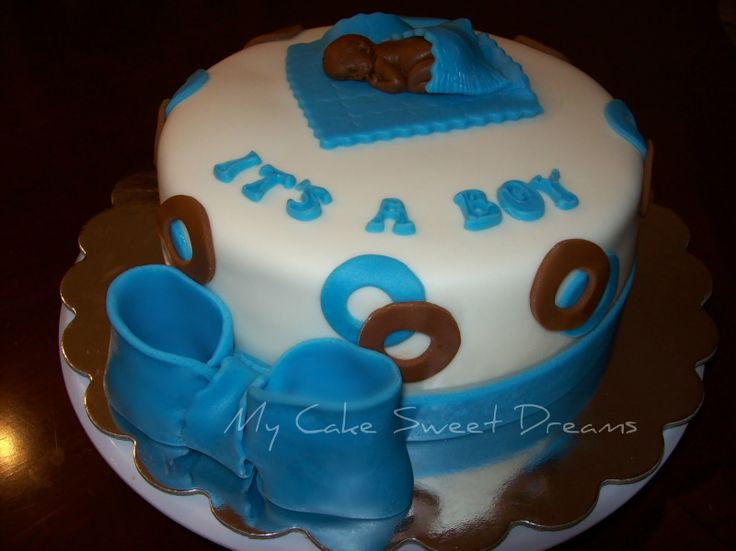 Baby Shower Cakes To Make At Home ~ 117 best easy to make baby shower cakes images on pinterest conch